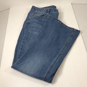 Lane Bryant genius fit boot cut jean